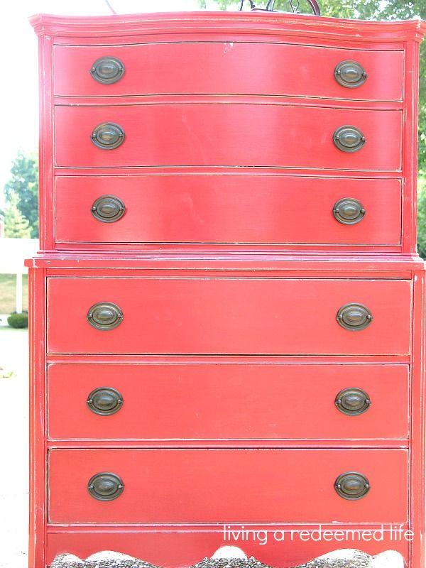 living a redeemed life: Barnyard Red Dresser