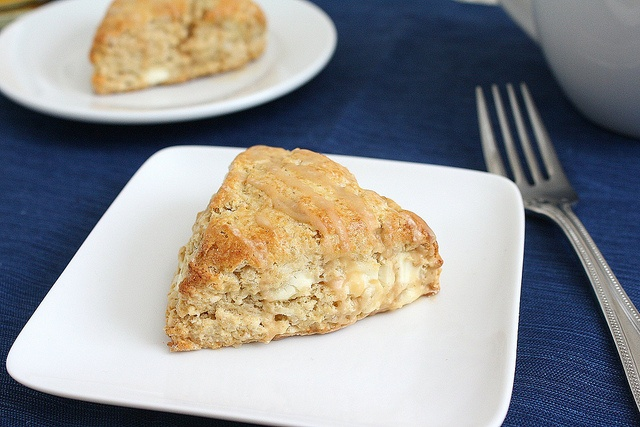 Maple Syrup Breakfast Scones with Cappuccino Glaze by Tracey's ...