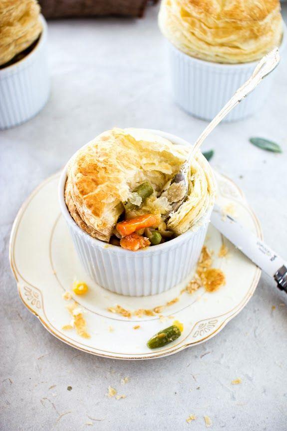 Mini Vegetable Pot Pies | Food & Drinks | Pinterest