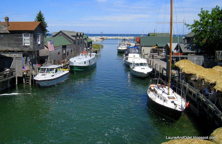 Leelanau Fishtown Leland Leelanau Peninsula Michigan