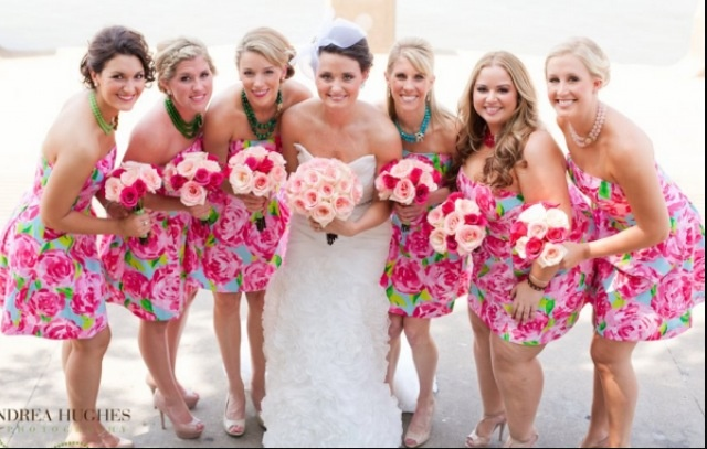 Lilly bridesmaid dresses <3