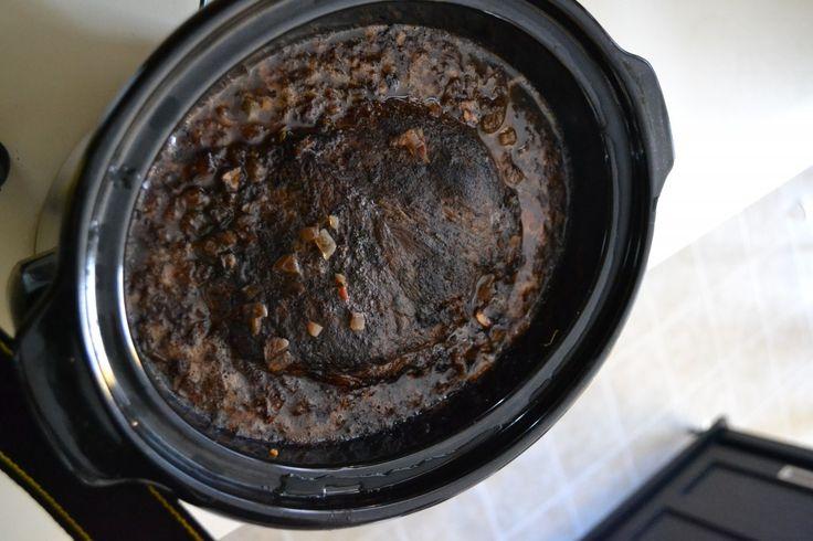 Slow-Cooked Shredded Pot Roast Sandwich | Favorite Recipes | Pinterest