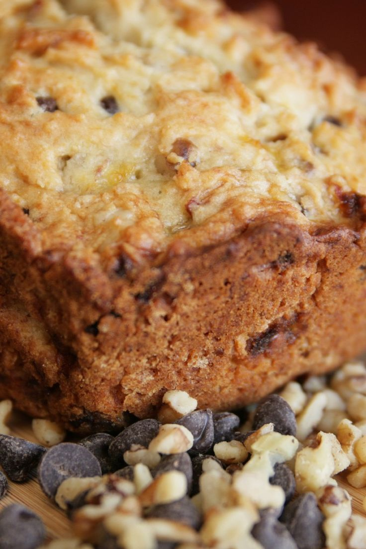 Chocolate Chip Zucchini Bread #Recipe for National Zucchini Day Aug ...
