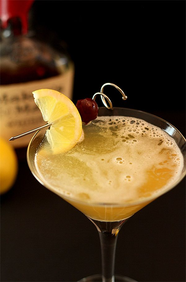 Classic Whiskey Sour, This was my fathers fav drink.. his drinking ...