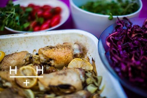 Roast Chicken With Onions, Fennel & Lemon @HemsleyHemsley I plan to ...