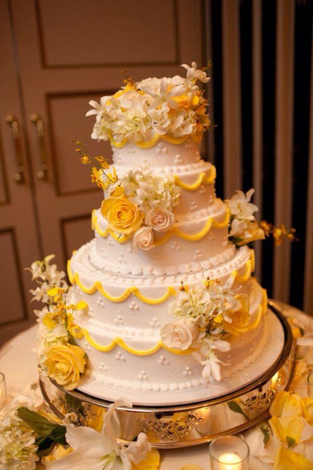 Gâteau de mariage  Gâteaux de mariage  Pinterest