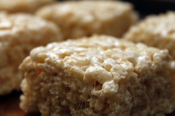Salted Brown Butter Rice Crispy Treats by Bakeology by Lisa
