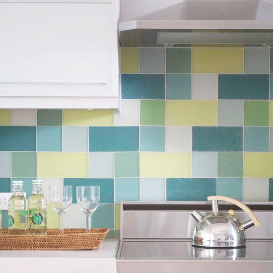 Colorful kitchen backsplash ideas Kitchen backsplash ideas bhg