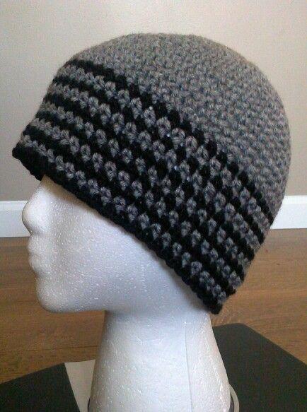 Gorro para hombre a crochet. ... | Crochet.. .. | Pinterest