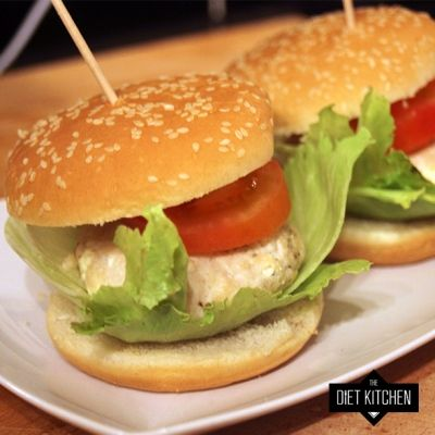 Turkey and Feta Cheese Burgers - Forget about boring tasteless turkey ...