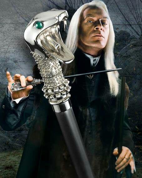 Как сделать волшебную палочку люциуса малфоя