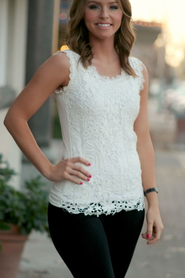 Bed of Roses Lace Blouse