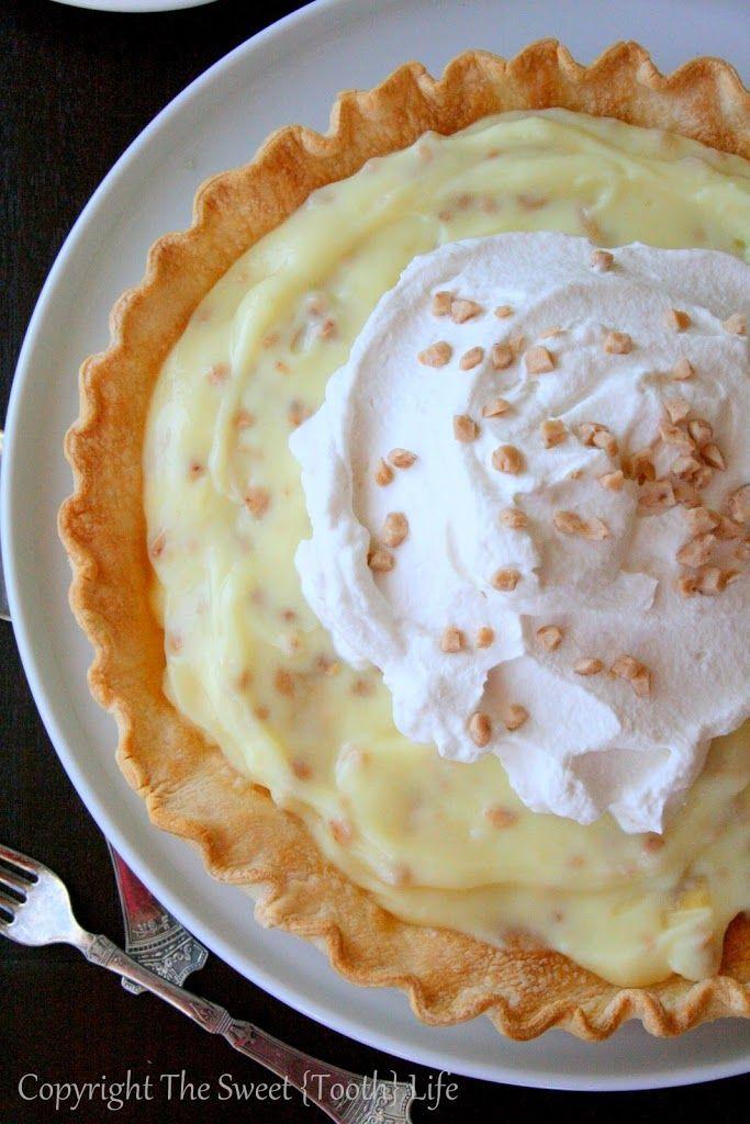 Coffee Toffee Banana Cream Pie