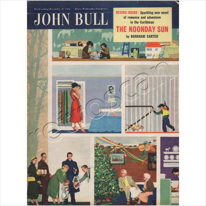 1954 John Bull Vintage Magazine Cover (Christmas Day) December 25 on eBid United Kingdom