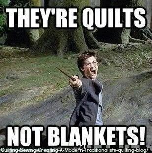 Not blankets!