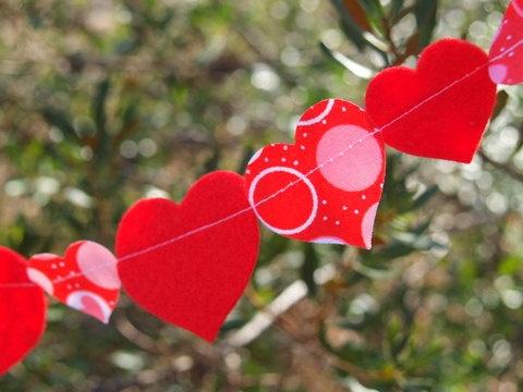 valentines heart garland neopets
