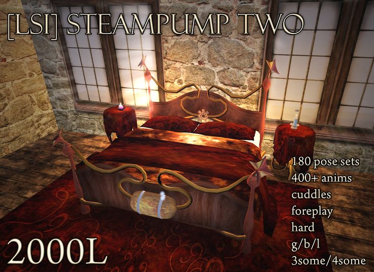 Steampunk bedroom home decor pinterest for Steampunk bed