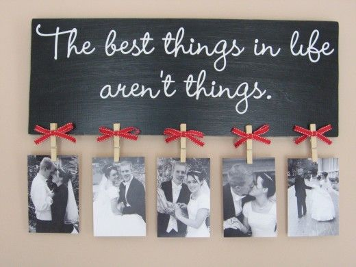 The best things in life..
