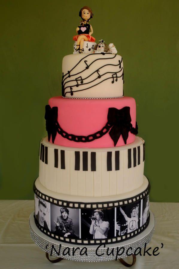 Cake Decorating Ideas Musician : Music Cake Ideas 58281 Musical Cake Cakes Cake Decorating