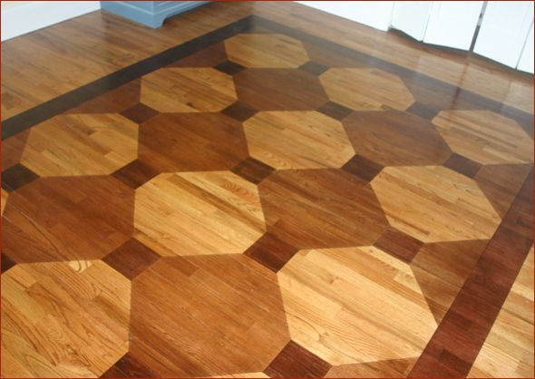 Wood Floor Custom Stain Carpet Design House Project
