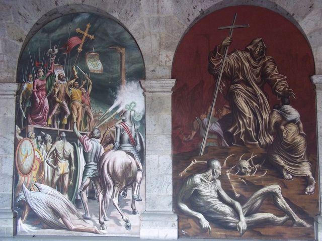 Pin by adriana marzan on muralismo latinoamericano y del for El mural guadalajara jalisco