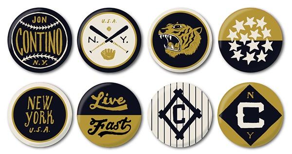 Jon Contino Custom Buttons