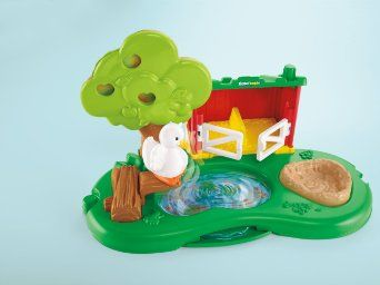 Fisher price little people farm pond and pig pen playset toys amp games
