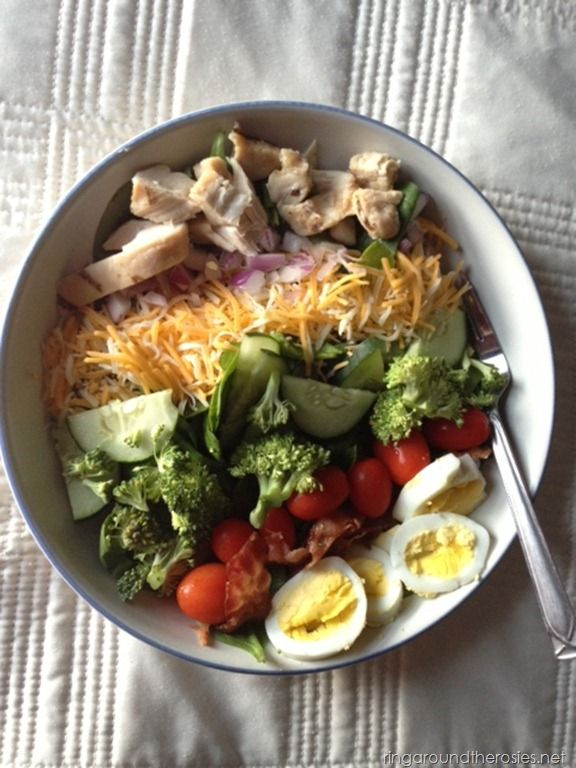 quick and easy cobb salad | Yummy dishes | Pinterest