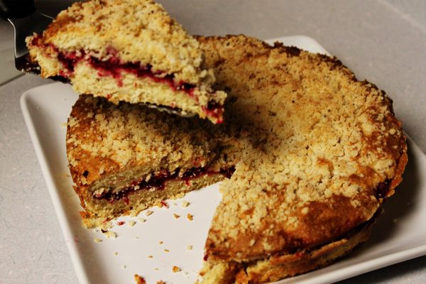 Cranberry Vanilla Coffee Cake | I love food. | Pinterest