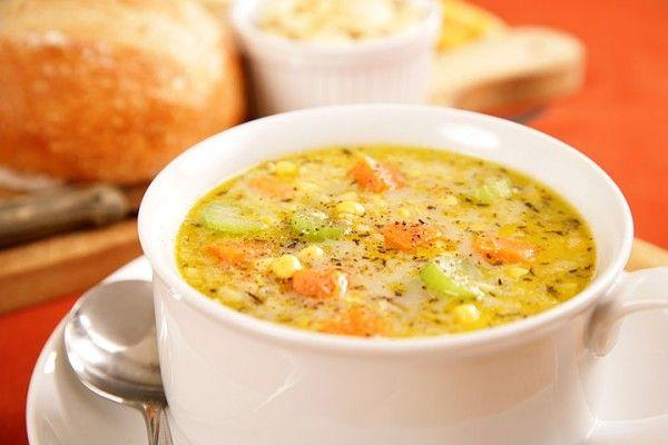 Best Vegan Corn Chowder EVER!! | Recipes - soup | Pinterest