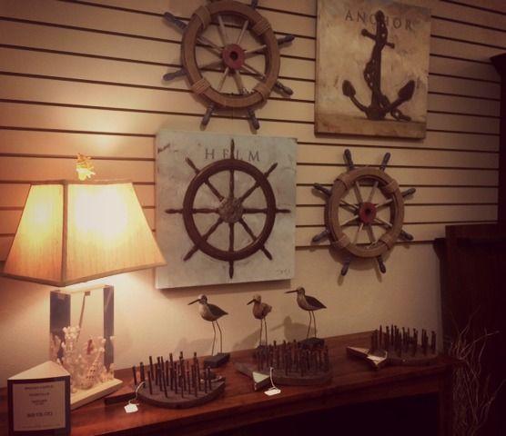 Nautical home decor and accessories!  Nautical Home Decor Ideas  P ...