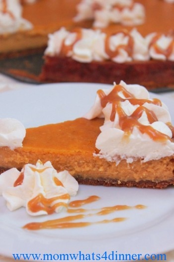 Pumpkin Pie Cheesecake | Recipes - Cakes | Pinterest