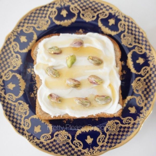 Whole-Grain Toast With Yogurt And Pistachios Recipes — Dishmaps