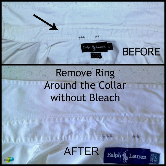 how to get a white shirt whiter without bleach