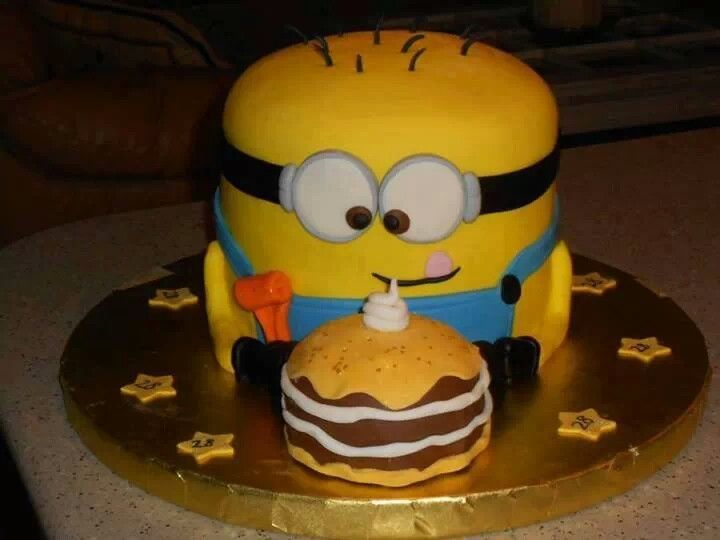 Minion Cake Design Pinterest : Minion cake birthday party ideas Pinterest