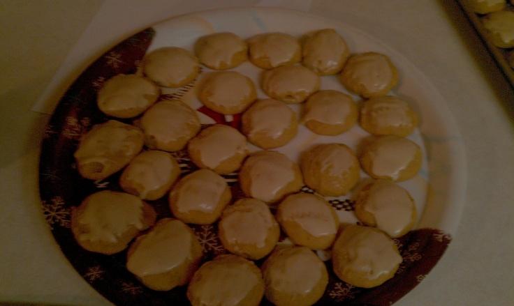 Pumpkin Cookies with Penuche Frosting INGREDIENTS: 1/2 cup sugar 1/2 ...