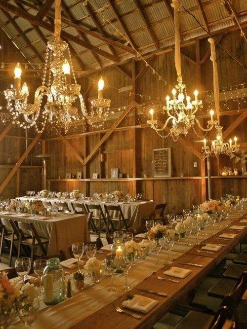 Western Wedding Reception Decorations Ideas Barn Decoration Diy