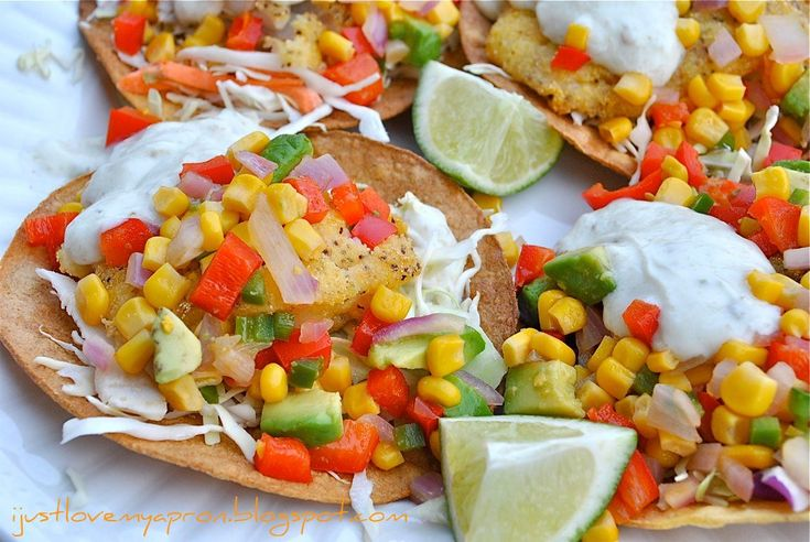 Black-Bean Tostadas With Corn Relish Recipes — Dishmaps