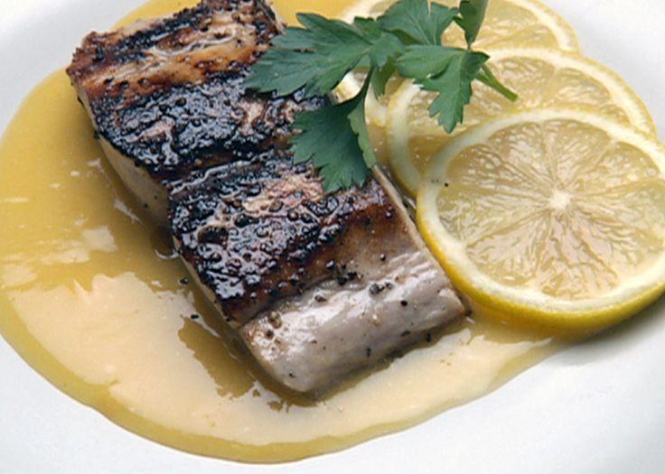 Mahi-Mahi with Orange Beurre Blanc Sauce Recipe : Robert Irvine : Food ...