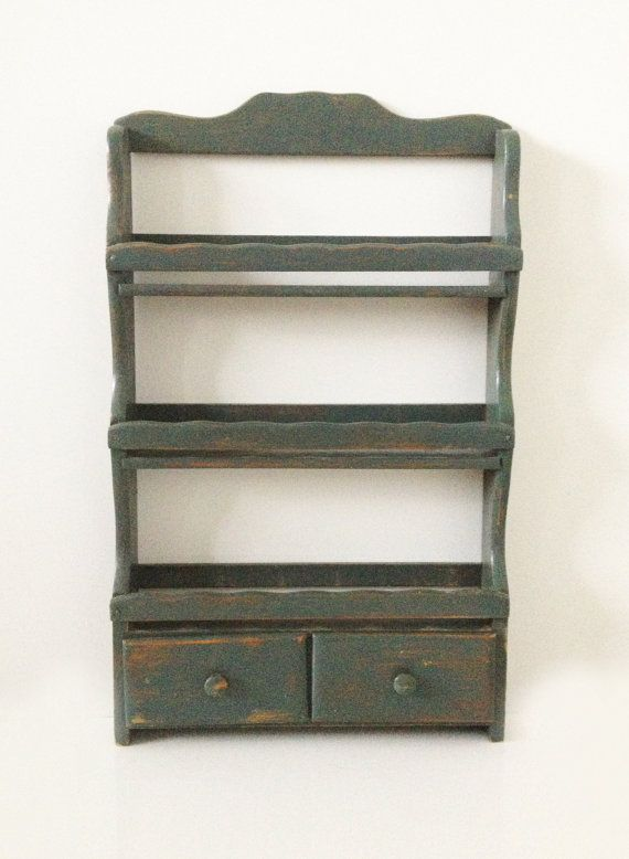 Vintage Rustic mail organizer wall mount - For the Home ...
