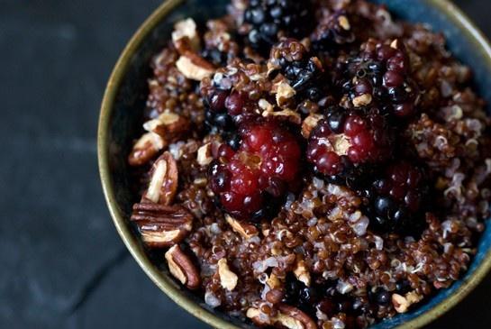 Warm and Nutty Cinnamon Quinoa | Recipe
