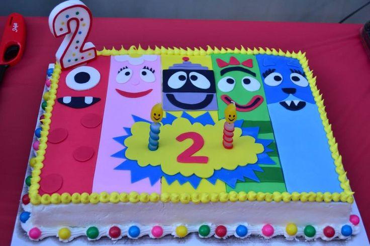 Image Result For Yo Gabba Gabba Birthday Cakes
