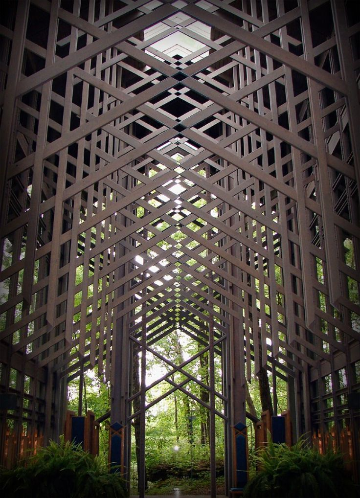 E fay jones thorncrown chapel churches historical for E fay jones architecture