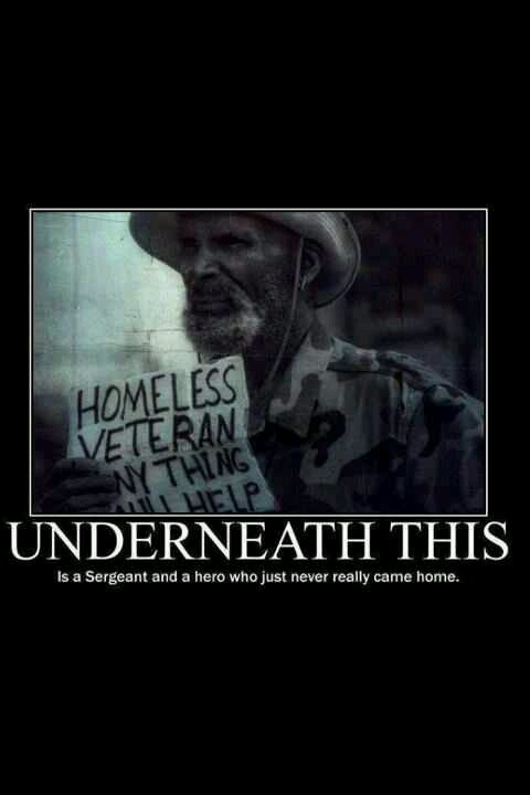 homeless veterans quotes inspirational quotesgram
