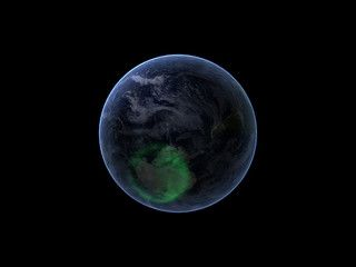 Nasa s image spacecraft view of aurora australis from space video by