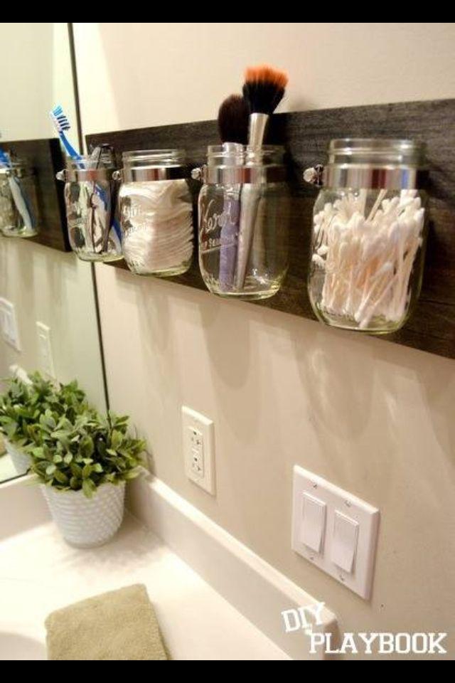 Mason Jar Shelves