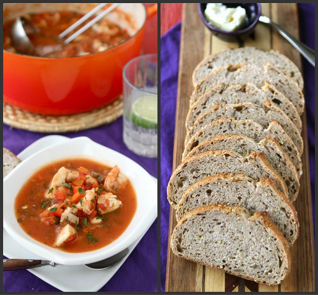 Fisherman's Soup Recipe with Tilapia, Shrimp, Tomatoes & Capers by ...
