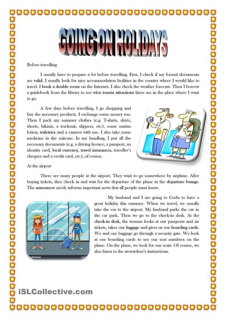 ESL Travel Documents Vocabulary Video Lesson 7162647