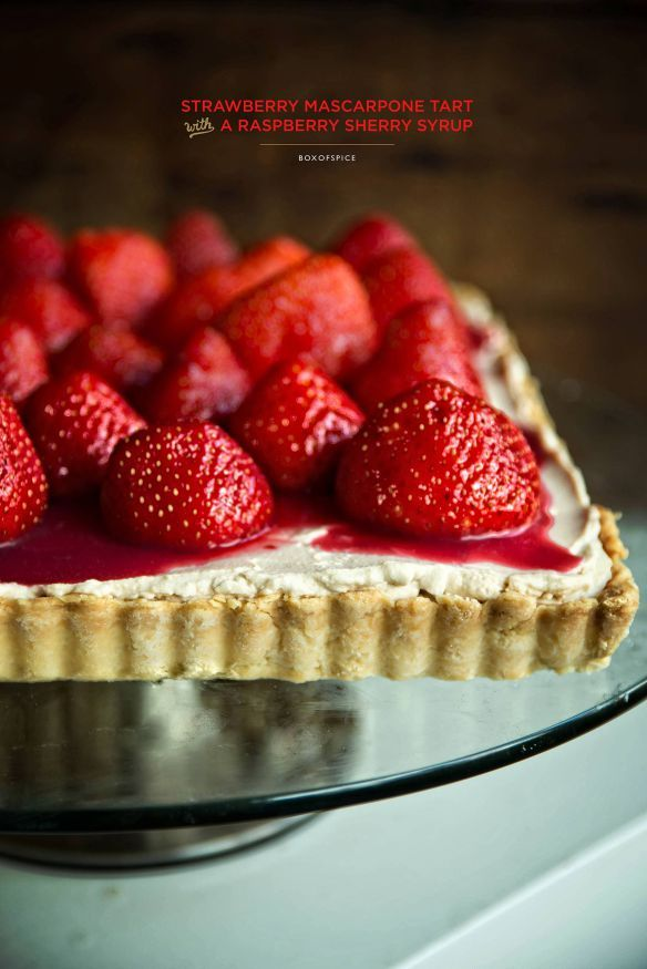 Strawberry Mascarpone Tart | Girls's Gotta Have a Sweet tooth! | Pint ...