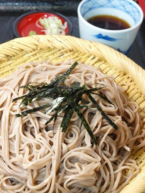 Japanese Soba Buckwheat Noodles 蕎麦 | Japanese /chineese food and ...
